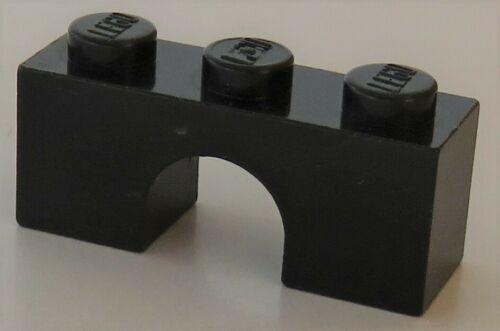 LEGO - Bogen / Arch 1 x 3 (2 Stück), schwarz # 4490
