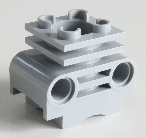 LEGO Technic - Zylinderkopf (2 Stück), hell blaugrau # 2850b