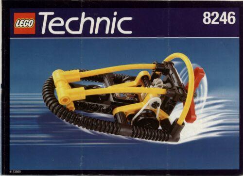 Lego Technic # 8246 Hydro Racer - Bauanleitung (keine Steine!)