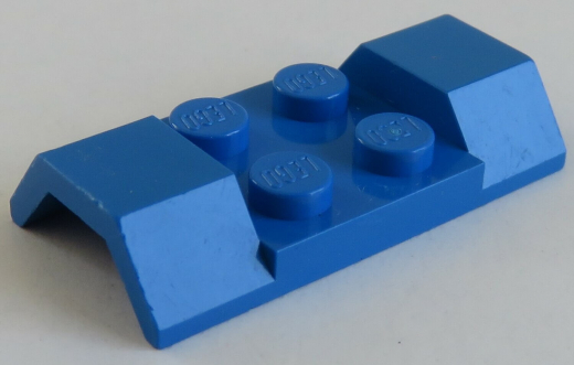 LEGO Fahrzeug / Vehicle - Kotflügel / Mudguard 2 x 4 (2 Stück), blau # 3787
