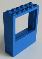 LEGO - Fenster / Window 2 x 6 x 6, blau # 6236