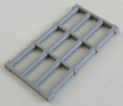 LEGO - Fenster Gitter / Window Bar 1 x 4 x 6. hell blaugrau # 92589
