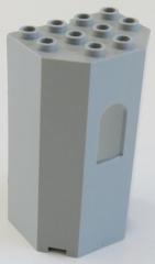 LEGO - Paneel / Wall / Burg-, Turmwand 3 x 4 x 6, hellgrau # 30246