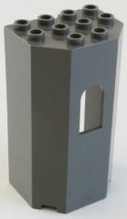 LEGO - Paneel / Wall / Burg-, Turmwand 3 x 4 x 6, dunkelgrau # 30246