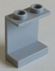 LEGO - Paneel 1 x 2 x 2 mit offenen Noppen, hell blaugrau # 4864b