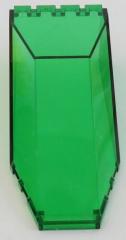 LEGO - Windschutzscheibe / Windscreen 10 x 4 x 2 1/3, trans grün  # 2507