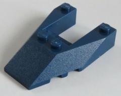 LEGO - Ecke / Wedge 6 x 4 mit Ausschnitt / Cutout (2 Stück), dunkelblau # 6153b