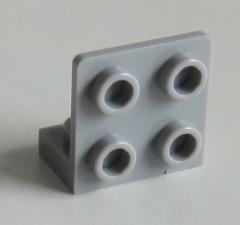 LEGO - Halter / Bracket 1 x 2 - 2 x 2 invers (4 Stück), hell blaugrau # 99207