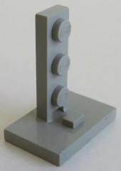 LEGO - Halter / Bracket, Signal- / Mastständer 2 x 3 - 1 x 3, hellgrau # 4169