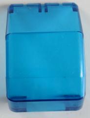 LEGO - Windschutzscheibe / Windscreen 4 x 4 x 4 1/3, trans dunkelblau  # 2483