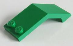 LEGO - Windschutzscheibe / Windscreen 5 x 2 x 1 2/3 (2 Stück), grün  # 6070
