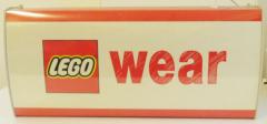 LEGO - Leuchtreklame WEAR, funktionstüchtig