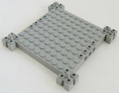 LEGO - Grundplatte / Base 12 x 12, hellgrau # 30645