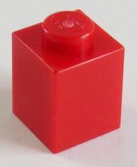 LEGO - Stein / Brick 1 x 1 (30 Stück), rot # 3005
