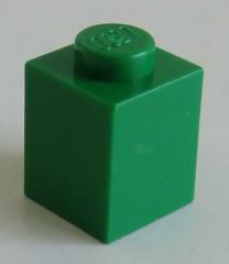 LEGO - Stein / Brick 1 x 1 (20 Stück), grün # 3005