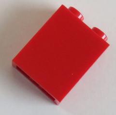 LEGO- Stein/Brick 1 x 2 x 2 mit Achshalter innen (6 Stück), rot # 3245b