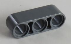 LEGO Technic - Liftarm 1 x 3 dick (8 Stück), dunkel blaugrau # 32523