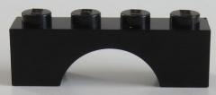 LEGO - Bogen / Arch 1 x 4 (6 Stück), schwarz # 3659