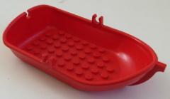 LEGO Fabuland - Ruderboot / Boat, rot # 4793