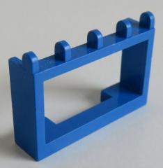 LEGO - Gelenk / Hinge Fahrzeug Dach Halterung 1 x 4 x 2 (2 Stück), blau # 4214