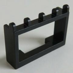 LEGO - Gelenk / Hinge Fahrzeug Dach Halterung 1 x 4 x 2 (2 Stück), schwarz #4214