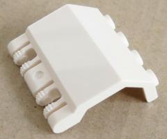 LEGO - Gelenk Paneele / Hinge Panel 2 x 4 x 3 1/3 (Rastergelenk), weiß # 44572