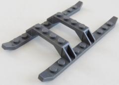 LEGO - Hubschrauber Gleitkufen, Kufen, Untergestell, dunkel blaugrau # 30248