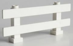 LEGO - Zaun / Fence 1 x 8 x 2 2/3, weiß # 6079