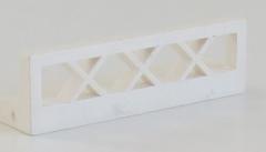 LEGO - Zaun / Fence 1 x 4 x 1 (4 Stück), weiß # 3633