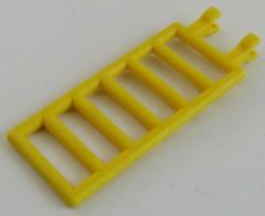LEGO - Zaun / Absperrung / Leiter 7 x 3 mit Doppel - Clip, gelb # 6020