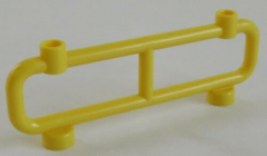 LEGO - Zaun / Absperrung / Fence 1 x 8 x 2 (2 Stück), gelb # 2486