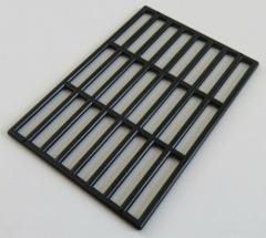 LEGO - Zaun / Absperrung / Gitter 9 x 13, schwarz # 6046