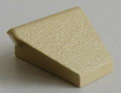 LEGO - Dachstein / Slope / First 45  2 x 1 doppelt / invers, beige # 3049b