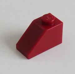 LEGO - Dachstein / Slope 45 2 x 1 (10 Stück), dunkelrot # 3040