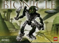 Lego Bionicle # 8740 Toa Hordika Matau - Bauanleitung (keine Steine!)