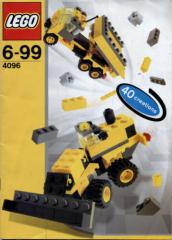 Lego Designer Set # 4096 Micro Wheels - Bauanleitung (keine Steine!)