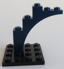 LEGO - Bogen / Arch 1 x 5 x 4, dunkelblau # 2339
