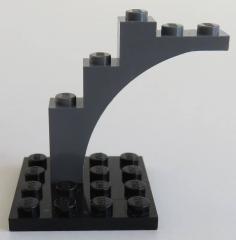 LEGO - Bogen / Arch 1 x 5 x 4 (2 Stück), dunkel blaugrau # 2339