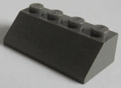 LEGO - Dachstein / Slope 45 2 x 4 (4 Stück), dunkelgrau # 3037