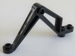 LEGO - Stütze / Support / Bein Insectoid (2 Stück), klein, schwarz # 30211