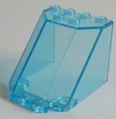 LEGO - Windschutzscheibe / Windscreen 5 x 4 x 3, transp. hellblau # 30251