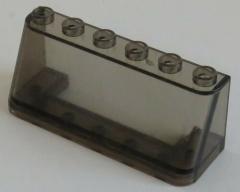 LEGO - Windschutzscheibe / Windscreen 2 x 6 x 2 (2 Stück), trans schwarz # 4176