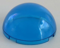 LEGO - Zylinder / Cylinder halb 4 x 4, transp. dunkelblau # 86500