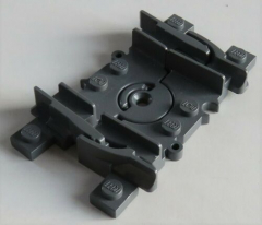 LEGO Zug / Train - RC flexible Schiene (2 Stück), dunkel blaugrau # 88492c00