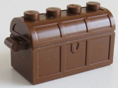 LEGO - Schatz Truhe / Treasure Chest (4 Stück), braun # 4738ac01