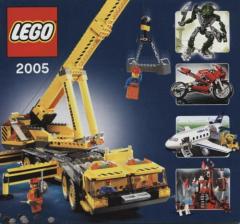 Lego - Katalog / Prospekt 2005 # 427.7371-DE (keine Steine !!)