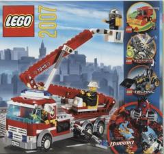 Lego - Katalog / Prospekt 2007 # 451.2176-DK (keine Steine !!)