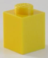 LEGO - Stein / Brick 1 x 1 (30 Stück), gelb # 3005
