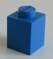 LEGO - Stein / Brick 1 x 1 (30 Stück), blau # 3005