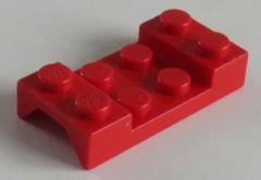 LEGO Fahrzeug / Vehicle - Kotflügel / Mudguard 2 x 4  (4 Stück), rot # 3788